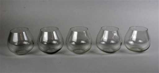 23535f82cdd2 Tiffany   Co Elsa Peretti 5 stemless wine glasses