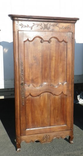 French Provincial Corner Cabinet