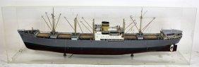 """Model Of Norwegian Ship """"sandanger"""""""