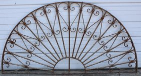 Demi-lune Iron Panel
