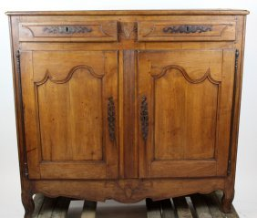 French Louis Xv Buffet Bas In Cherry