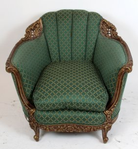 French Louis Xv Style Bergere