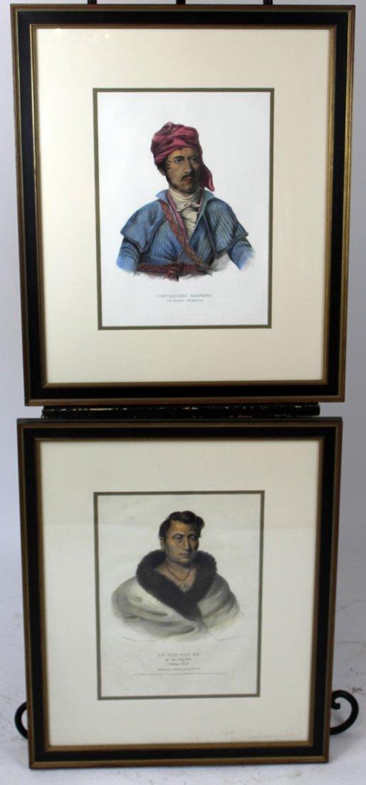 Lot of 2 McKinney & Hall engravings