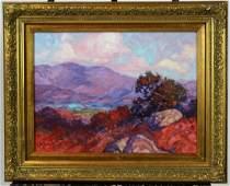 James Dudley Slay III oil on canvas