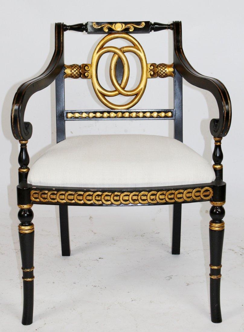 Empire style armchair