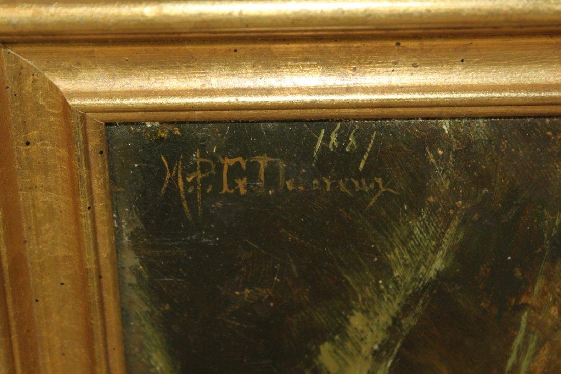 MPG Denereaux oil on canvas floral stillife - 2