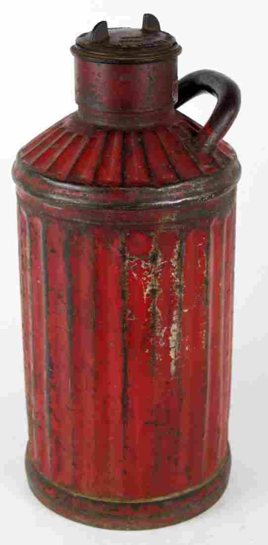 Antique American Davis Welding 5 gal oil can