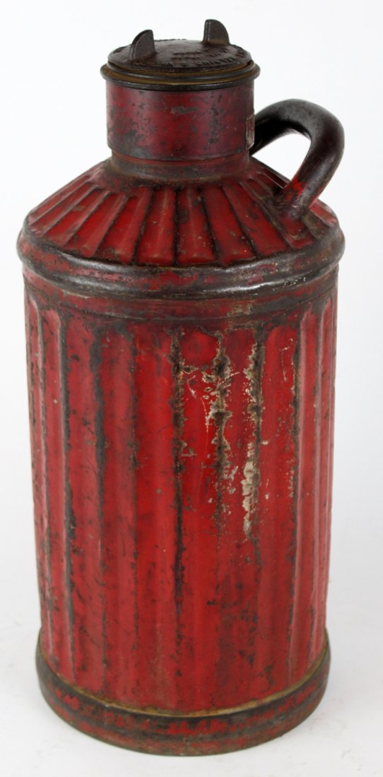 Antique American Davis Welding 5 gal oil can