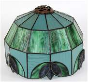 American stained glass lamp shade