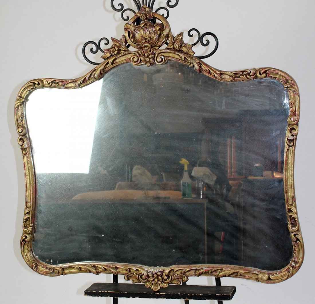 Louis XV style mirror - 2