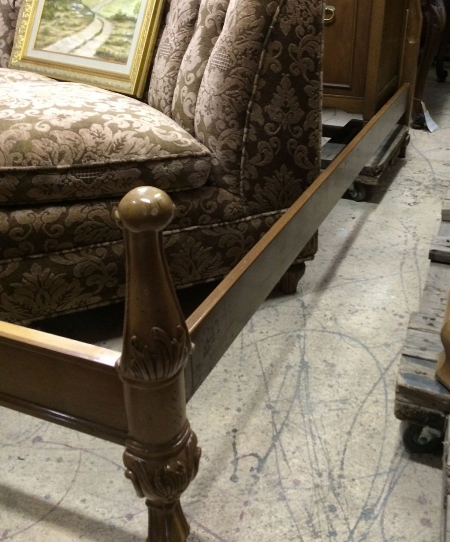 Century Provincial style queen bed - 4
