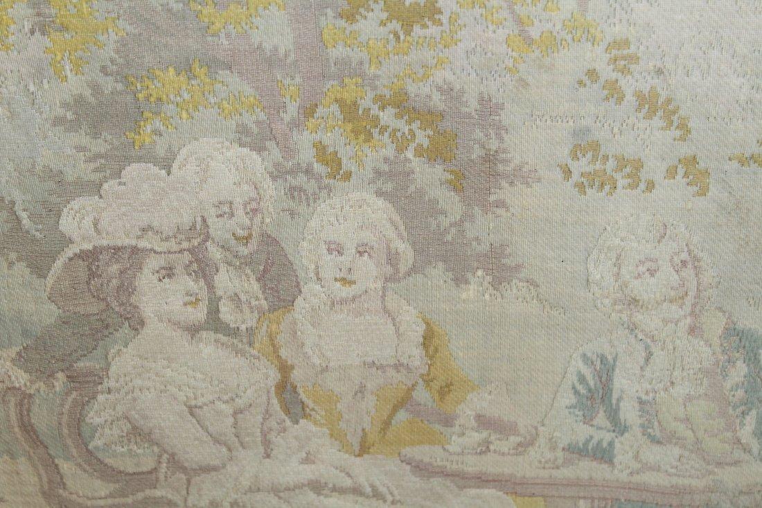 Tapestry after Alonso Perez The Butterfly Catcher - 4