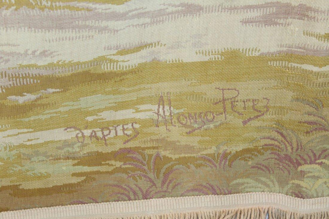 Tapestry after Alonso Perez The Butterfly Catcher - 5