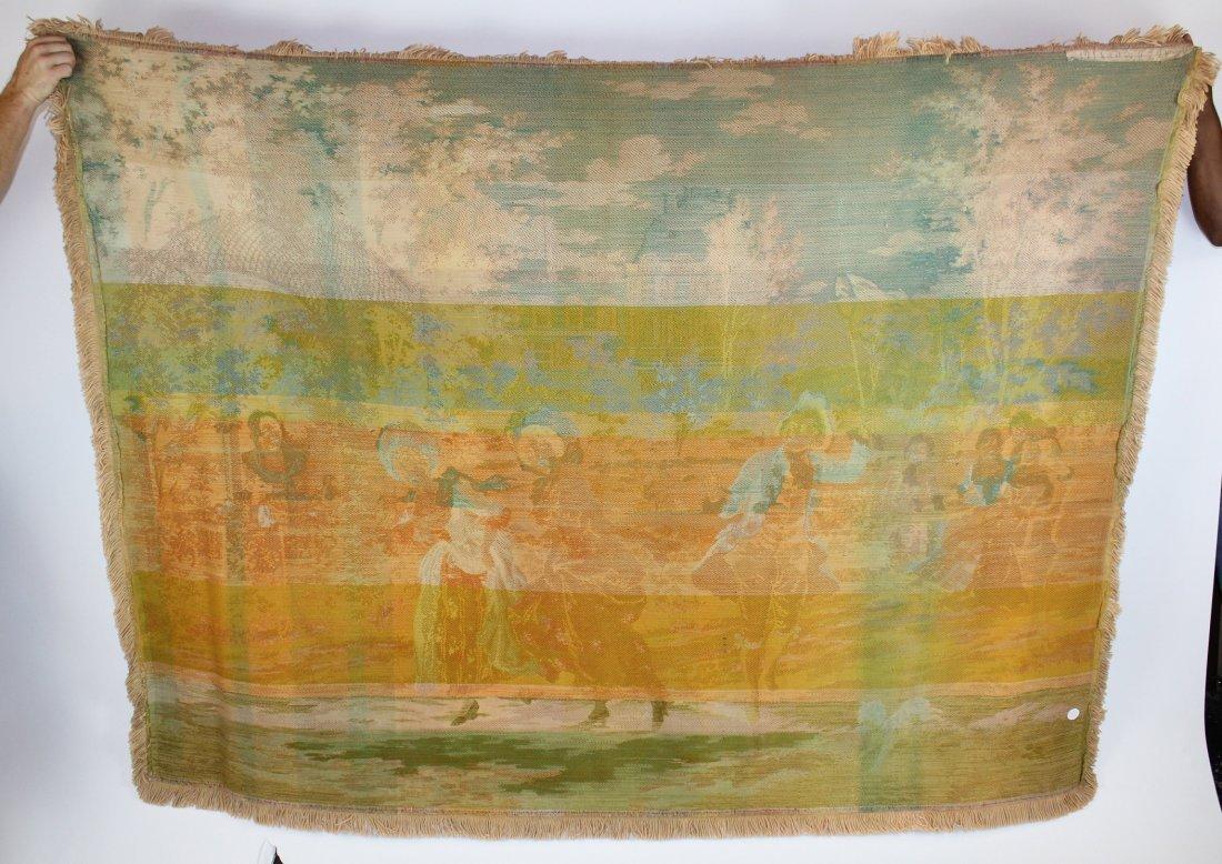 Tapestry after Alonso Perez The Butterfly Catcher - 6