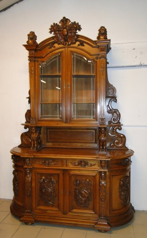 Grand scale French Renaissance buffet