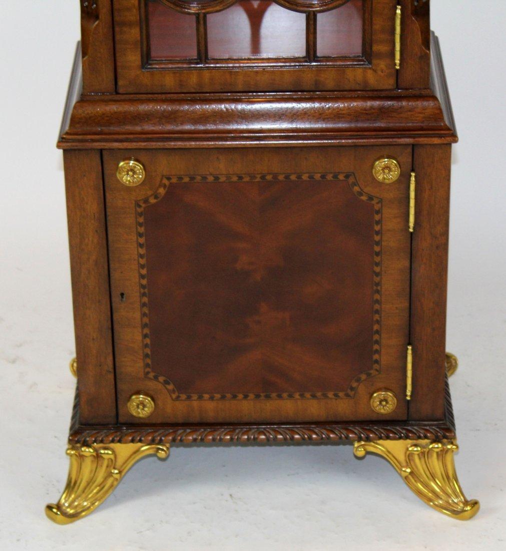 Maitland Smith flame mahogany curio cabinet - 2
