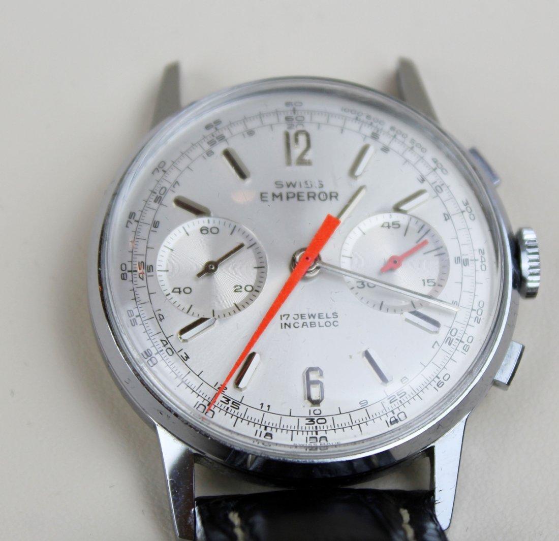 Vintage Swiss Emperor 17 jewels Incabloc watch