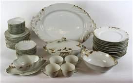 J. Pouyat Limoges porcelain service