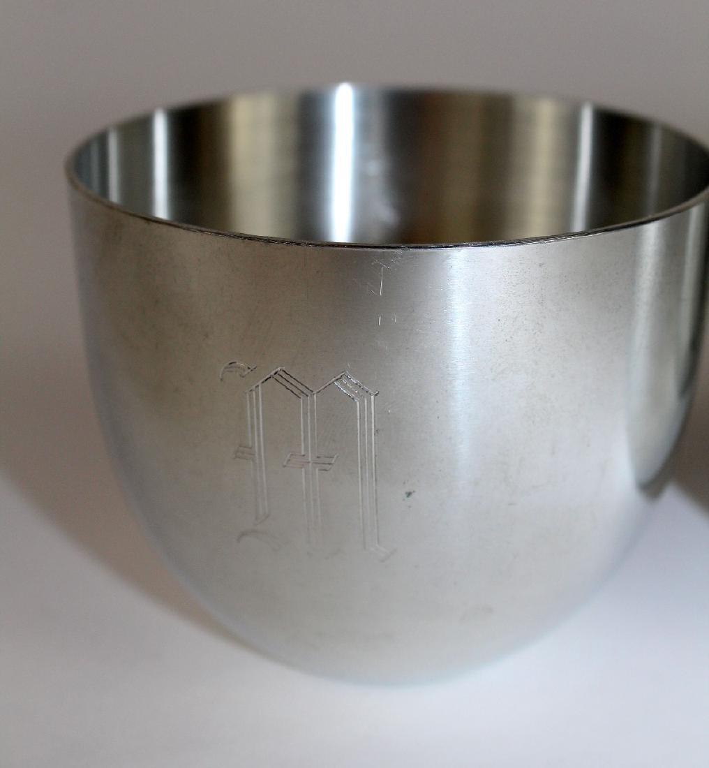 Set of 6 Steiff pewter Jefferson Cups - 2