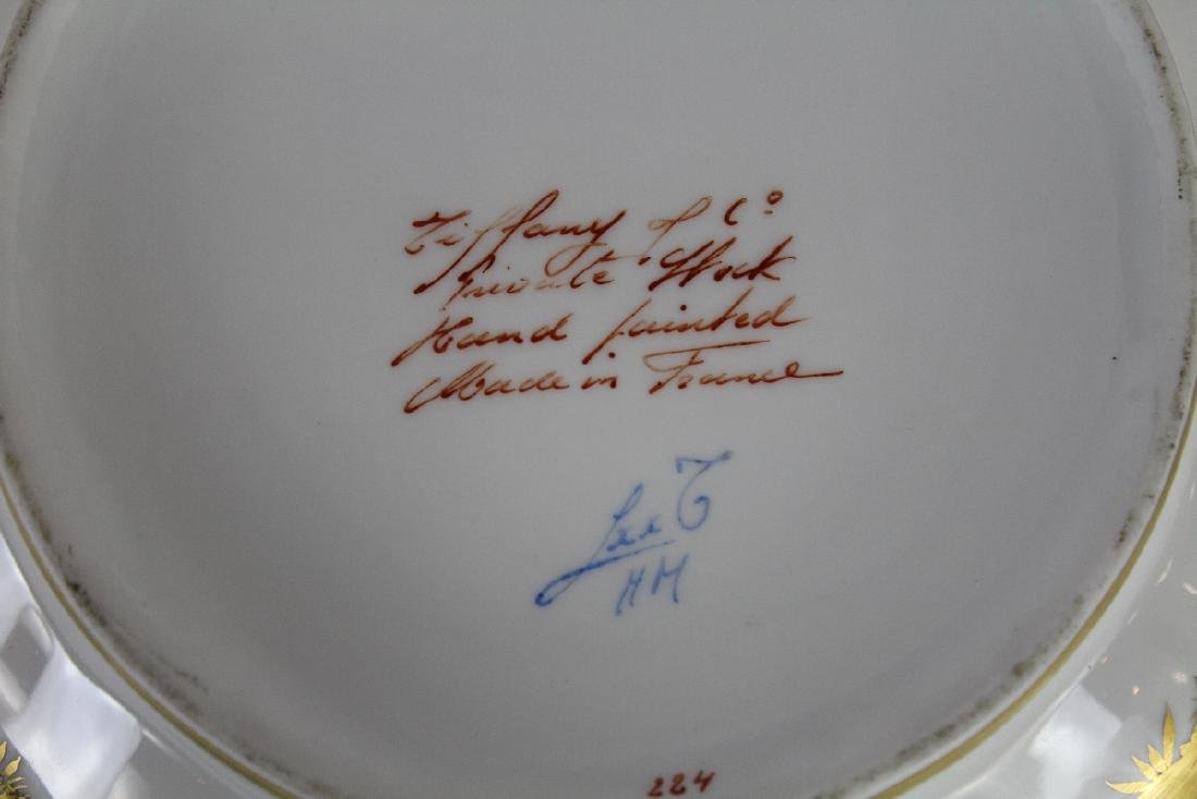 Tiffany & Co hand painted porcelain bowl - 3