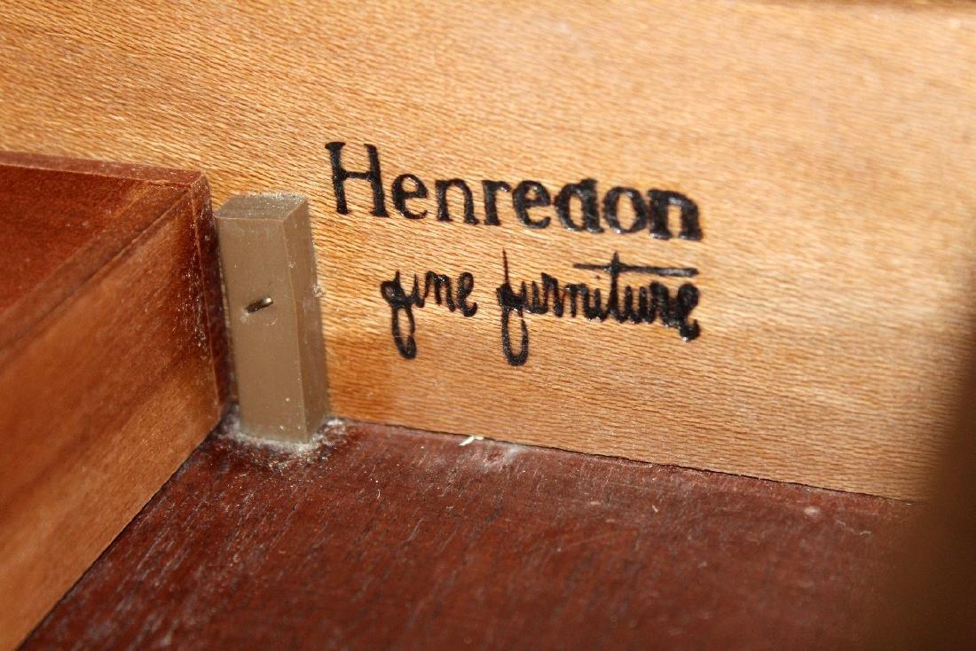 Vintage Campaign style desk by Henredon - 5