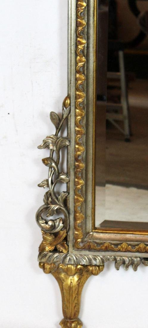 Empire style mirror with double gryphon crest - 3