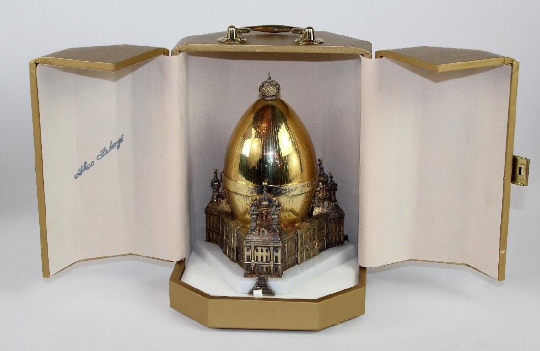Theo Faberge St Petersburg Egg