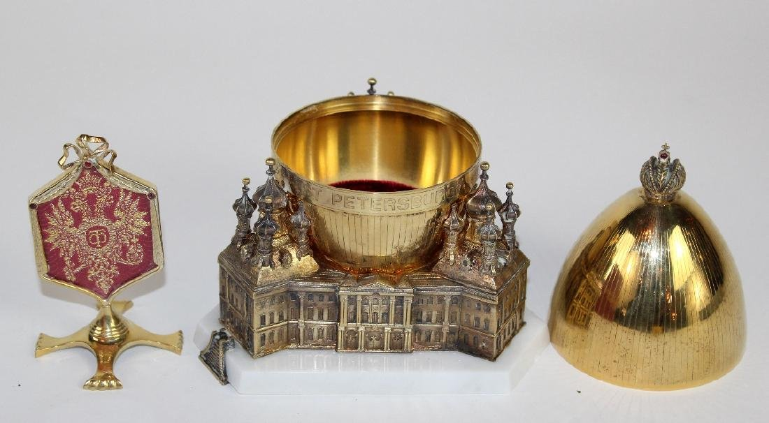Theo Faberge St Petersburg Egg - 3