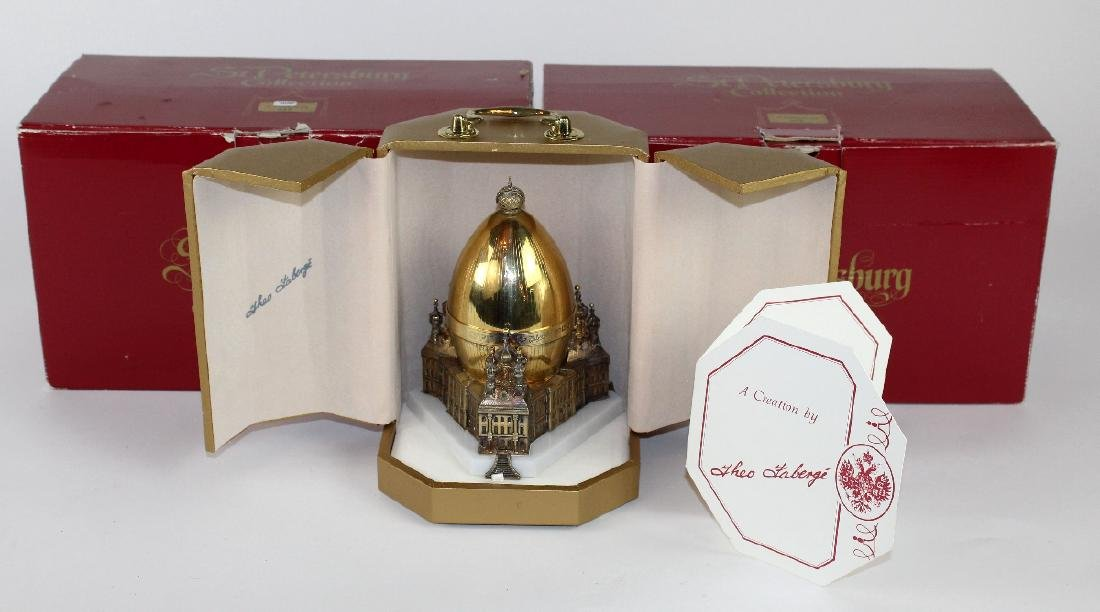 Theo Faberge St Petersburg Egg - 7