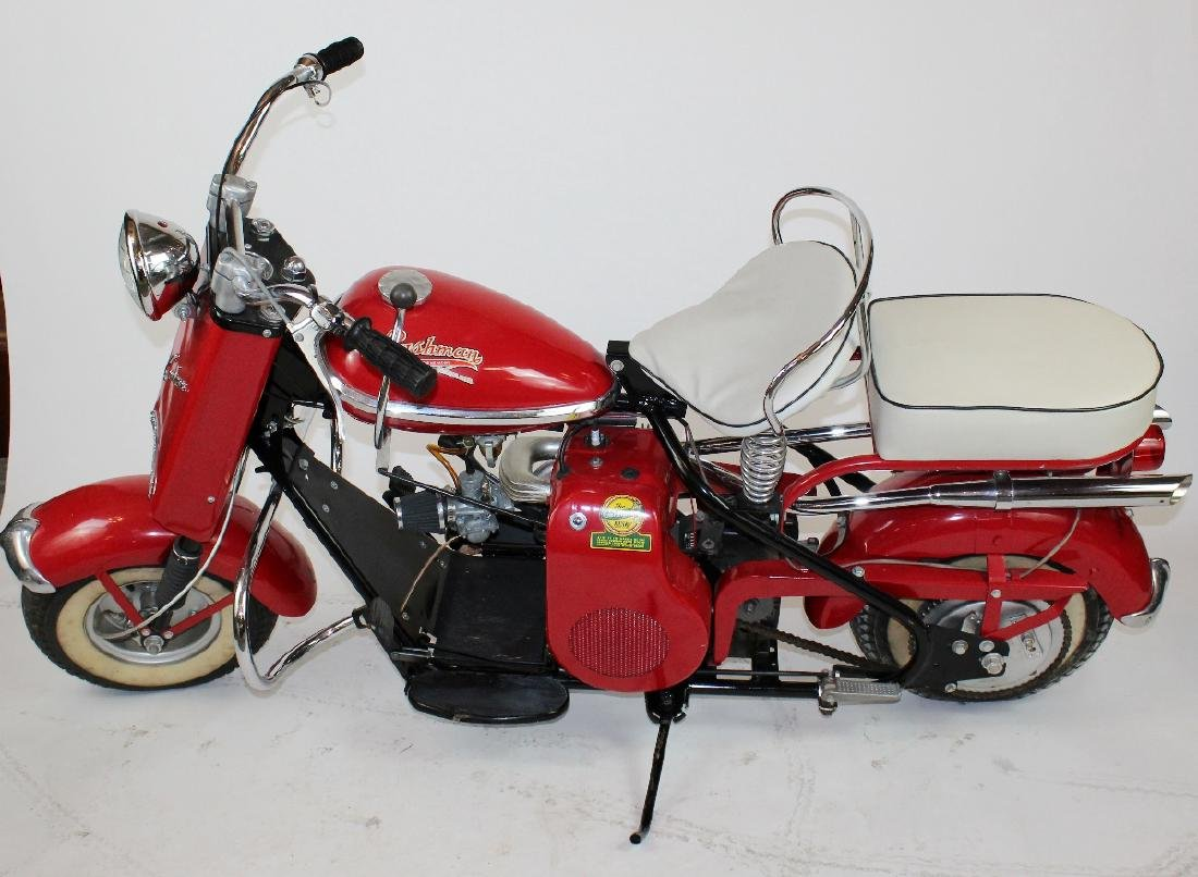 1956 Cushman Husky scooter