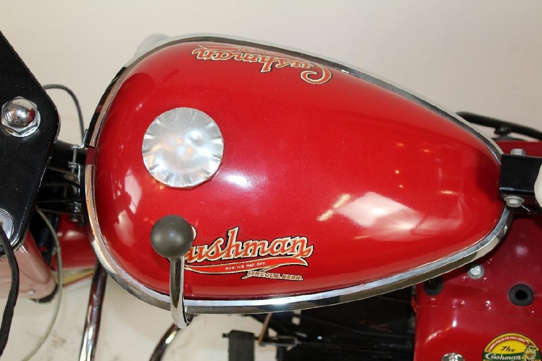 1956 Cushman Husky scooter - 3