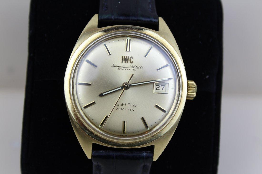 IWC Schaffhausen Yacht Club vintage men's watch - 2