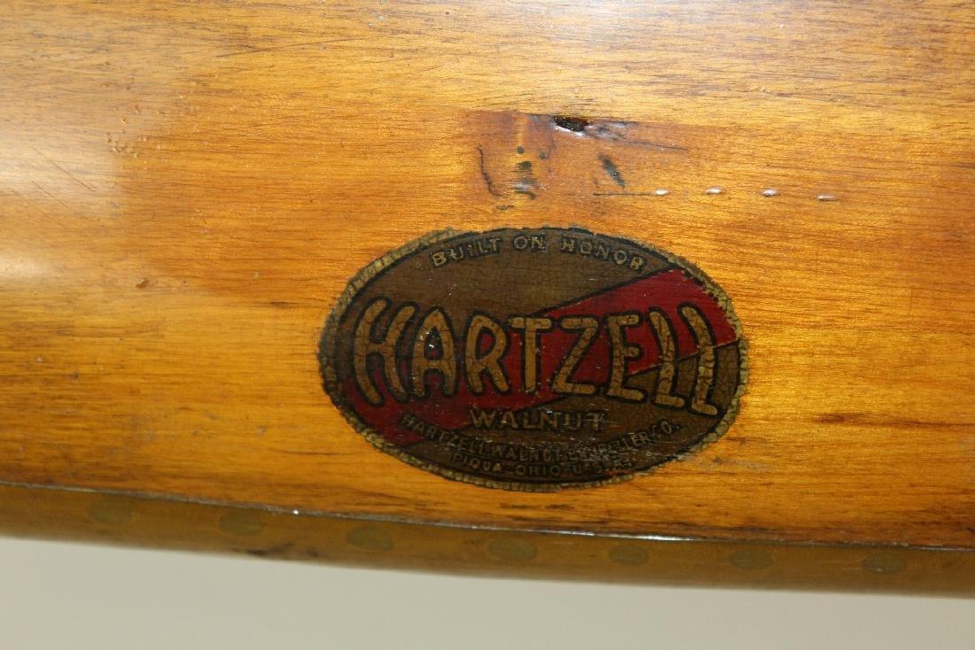 Vintage Hartzell wooden propeller with clock - 3