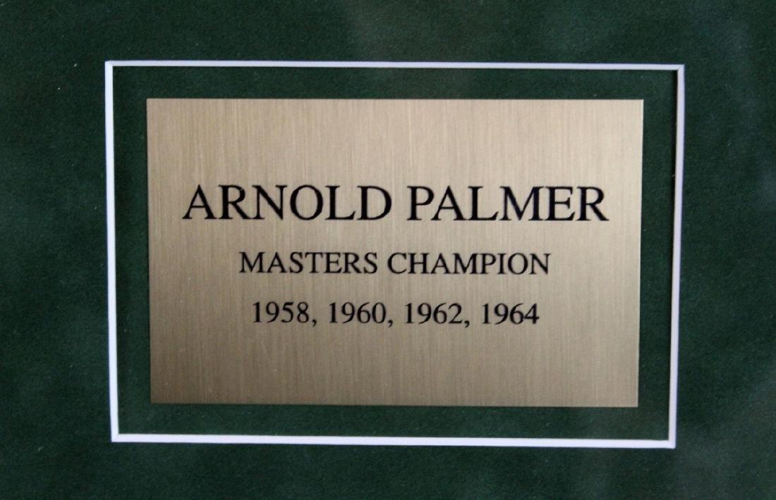 Arnold Palmer signed Masters flag - 2