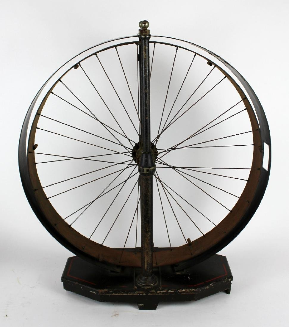 Antique French Fichet bank coding wheel
