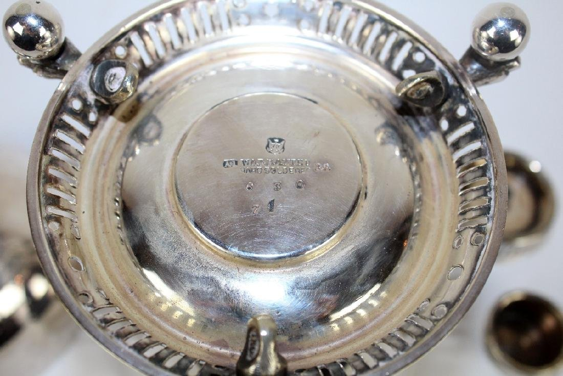 English silverplate egg coddler - 4