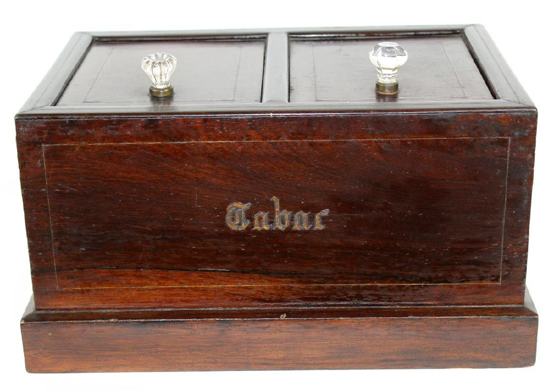 French Tobacco box in rosewood