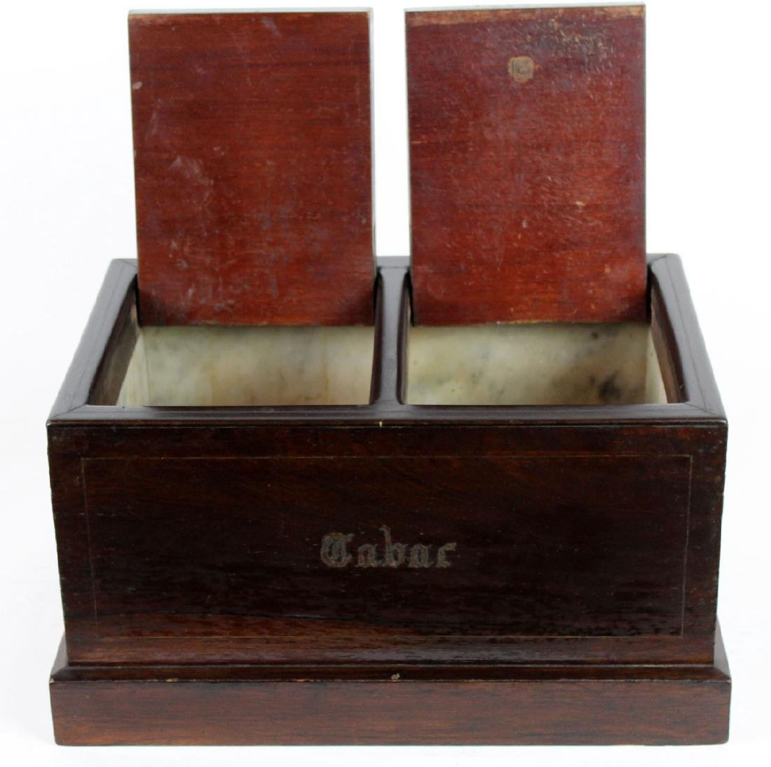 French Tobacco box in rosewood - 2