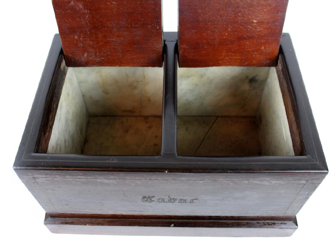French Tobacco box in rosewood - 3