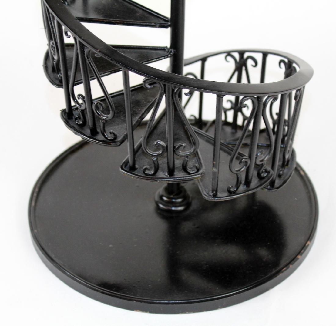 Iron spiral staircase model - 2