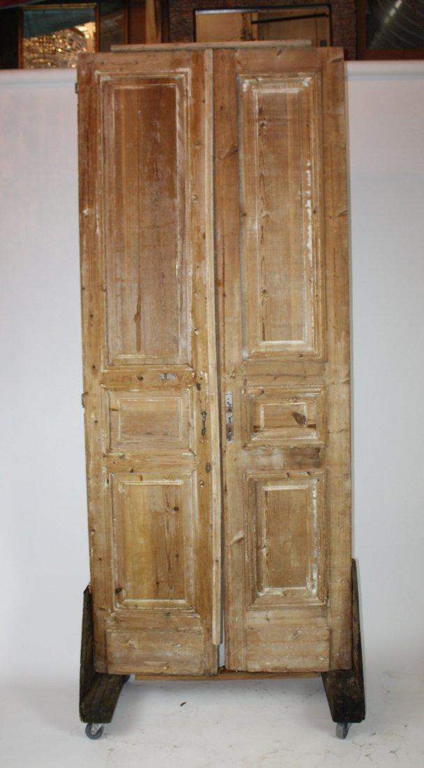 Rustic pine doors - 2
