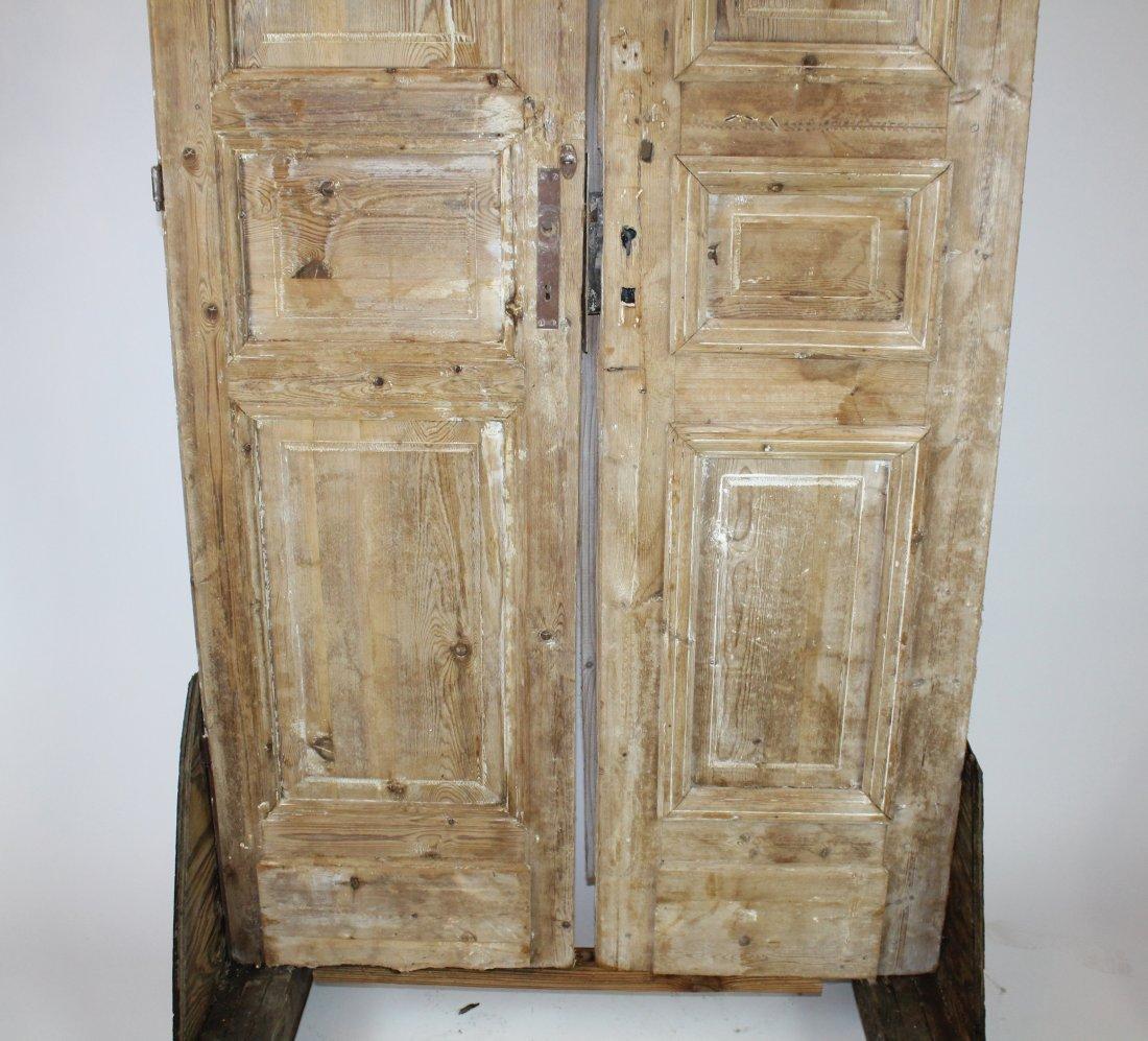 Rustic pine doors - 3
