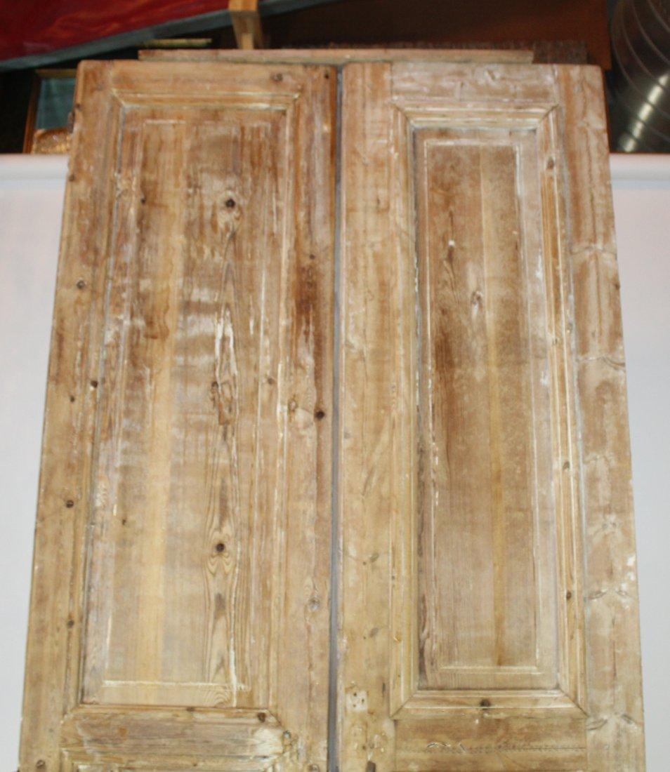 Rustic pine doors - 4