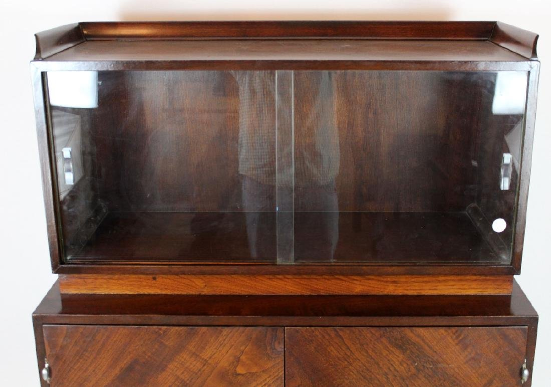 Italian Mid century cocktail cabinet in Rosewood - 3