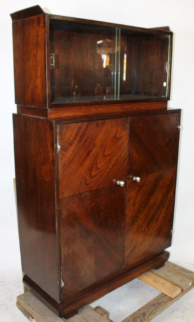 Italian Mid century cocktail cabinet in Rosewood - 4