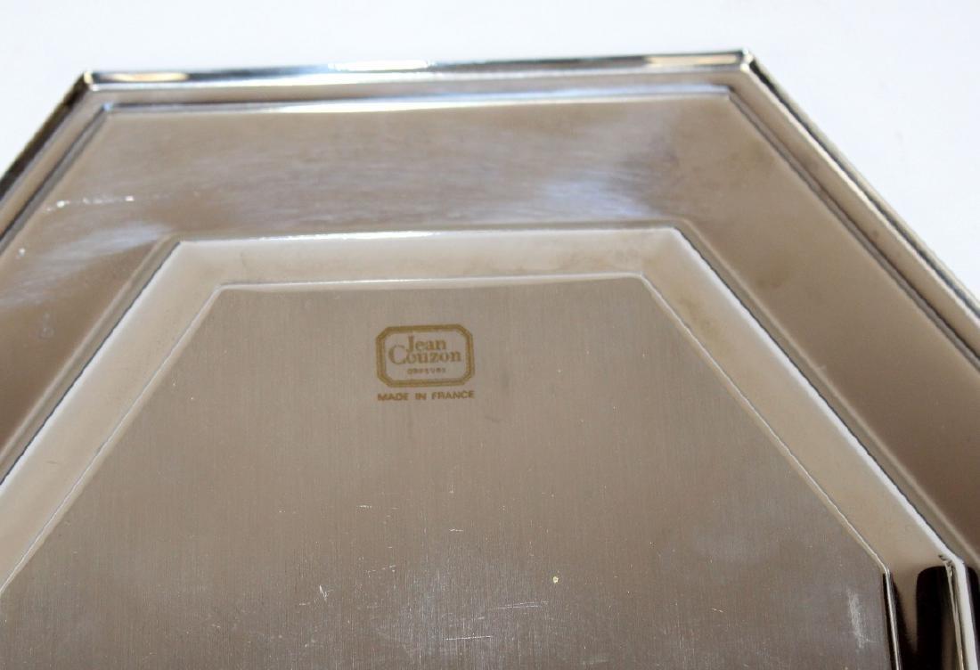 Jean Couzon Orfevre silverplate asparagus platter - 3