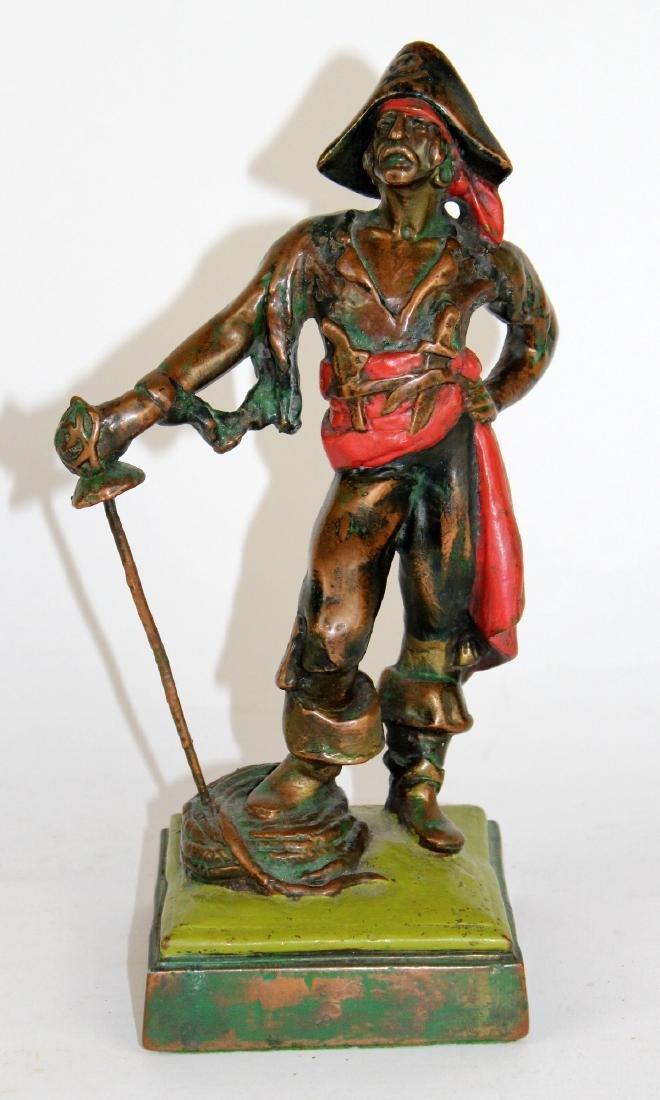 Armor Bronze Co Paul Herzel bronze statue