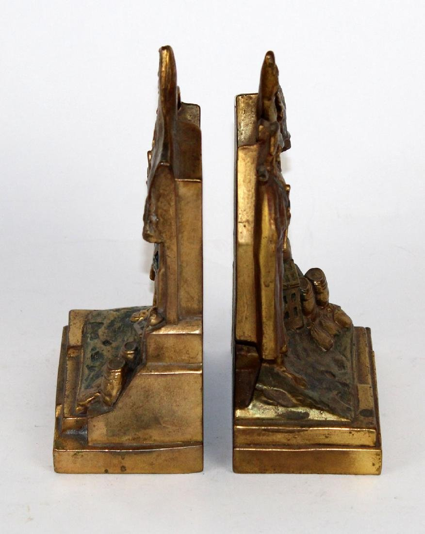 Pompeian Bronze Co Pirate Booty bookends - 2