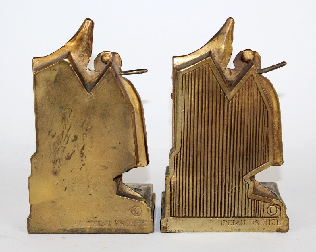 Pompeian Bronze Co Pirate Booty bookends - 3