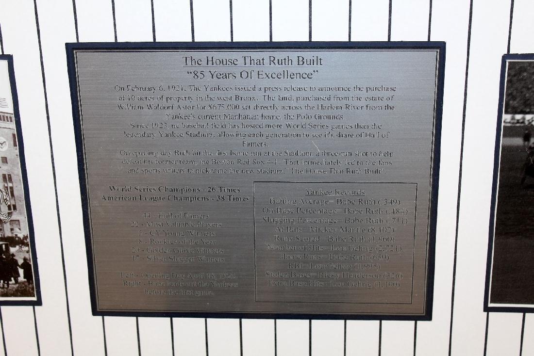 Last Night at Yankee Stadium commemorative print - 3